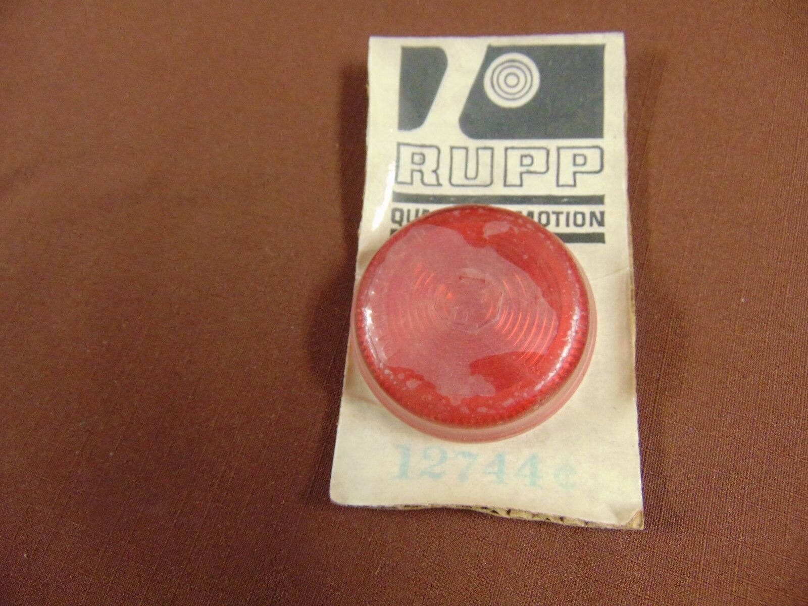 VINTAGE NOS RUPP SNOWMOBILE TAIL LIGHT LENS 12744 1970 1971 SPRINT MAGNUM