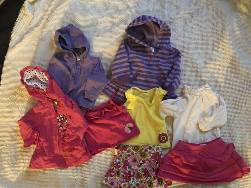 Baby Girl Clothes 9-12 Months Summer Lot