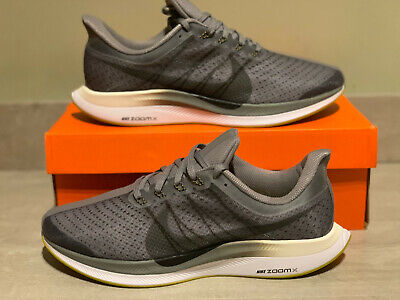 Men's Nike Zoom Pegasus 35 Turbo Grey Black White UK 9 EUR 44 BNIB *AJ4114 003*