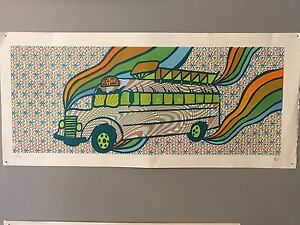 Further Bus Print limited edition 114/120