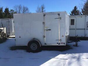 2016 6x10 enclosed trailer