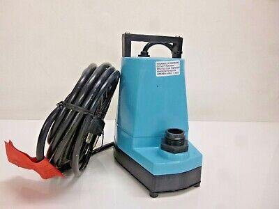 NEW!! LITTLE GIANT 5-MSP-18 Utility submersible Sump Pump 1/