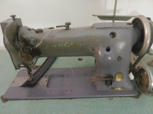 Industrial Sewing Machine Model Singer 111-156 walking foot Leather with reverse