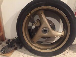 Ducati 916 open swing arm
