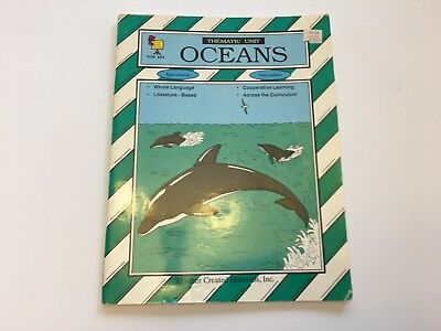 Oceans Thematic Unit Intermediate Science Sea Life Habitats Literature Based - Intermediate Literature Unit