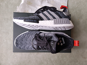 US 10 Men, Adidas NMD R1 (Dark Grey, Black) Melbourne CBD Melbourne City Preview