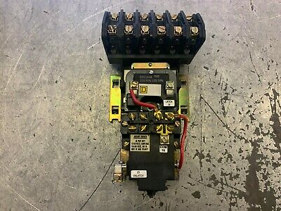 ASCO 917 12 Pole Latching Lighting Contactor 110-120VAC Coil With Enclosure