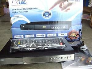DIGITIAL RECORDER PVR 6600 TWIN TUNER 250GB HDD & REMOTE & CABLES Worongary Gold Coast City Preview