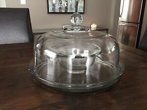 Multi Use Serving Dish - Covered Tray, Dip & Platter, Punch Bowl