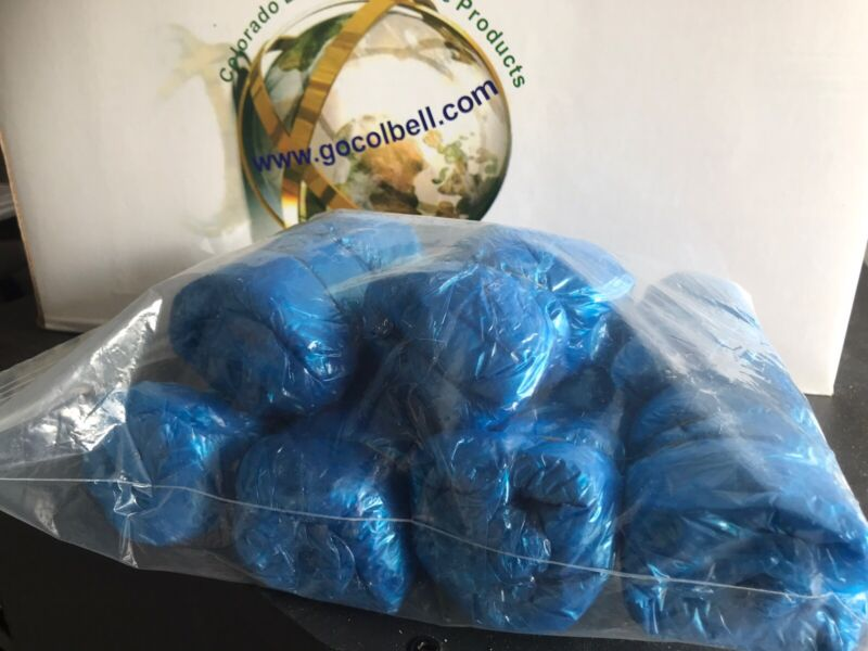 New Blue Disposable Shoe / Boot Medical-Grade Shoe Cover Refill Rolls Only!