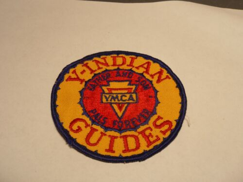 YMCA Y-Indian Guides Patch Father and Sons Pals Forever Looks Never Used 1973-75