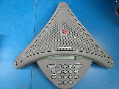 Soundstation Premier Polycom Conference Speaker Phone 2201-01900-001 E - Damaged