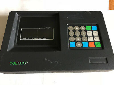 Toledo 8142 8142 Mettler Toledo Scale 8142 Interface Panel Digital Indicatoraa