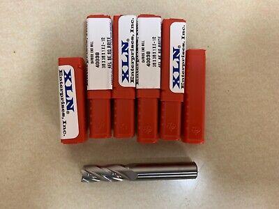 38 4 Flute Se Carbide End Mill Usa Made Lot Of 5 Pcs Brand New
