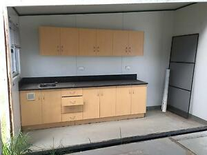 6 X 6 donga with kitchen and bathroom Helensvale Gold Coast North Preview