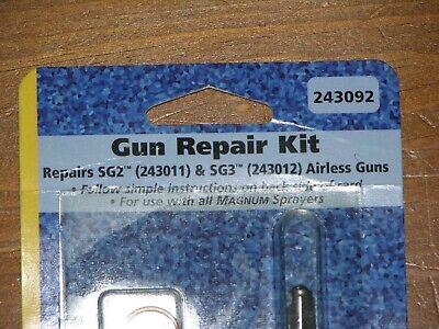 Genuine Graco 243092 Repair Kit Sg2 Sg3 All Magnum Airless Paint Sprayer Guns