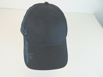 c51ed428c4a073 Navy Bass Fishing Embroidered Strapback 6 Panel Hat - Adjustable Cap