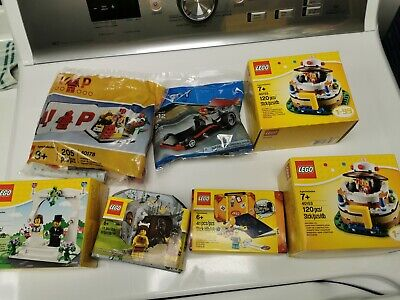 LEGO lot all sealed 40153 (x2), 5004932, 5004936, 40165, 40178, 30358