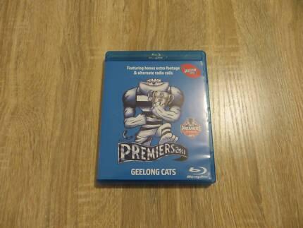 Premiers 2011 - Geelong Cats - Region B Blu-Ray Disc - DVD Set