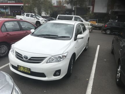 Toyota Corolla ascent sport 2012 Meadowbank Ryde Area Preview