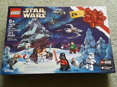 2020 Lego Disney Star Wars Advent Calendar 75279. New in box.
