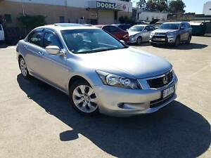 2008 Honda Accord VTi LUXURY AutO Sedan 1 OWNER SUNROOF LEATHER SEATS Roselands Canterbury Area Preview