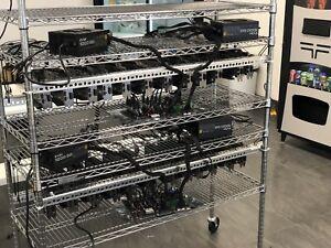 GPU Mining Rig 12 cards 1070Ti 8GB