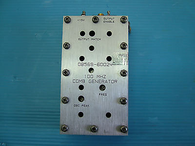 Comb Generator Rf Hp 08569-60024 For 8593e 8569b Fully Tested Sale