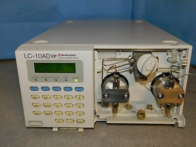 Shimadzu Lc-10ad Vp Hplc Pump Liquid Chromatograph With Remote Cable