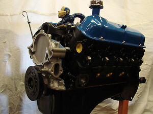 260 Ford Crate High Performance balanced engine with 5 bolt bell housing pattern