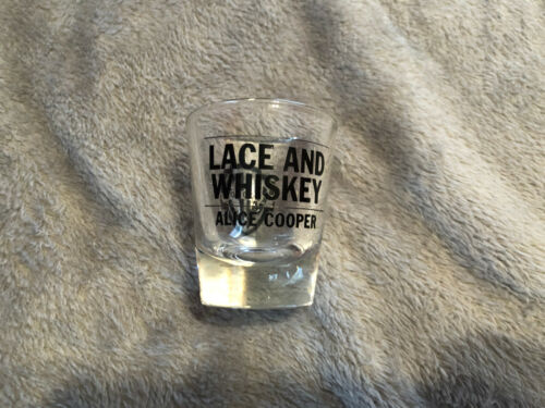 SHOT GLASS LACE AND WHISKEY PROMO WB alice cooper