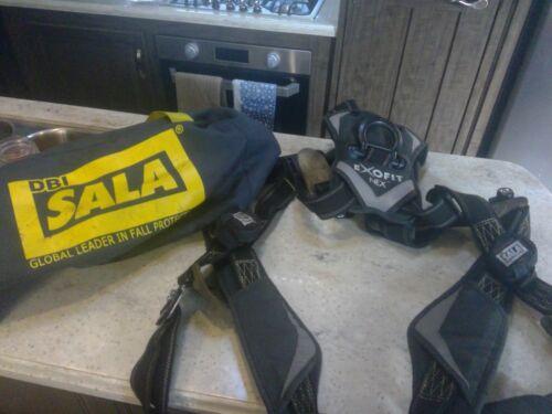 3M DBI-SALA ExoFit NEX Fall Protection Full Body Harness 1113007 Large NOV 2014