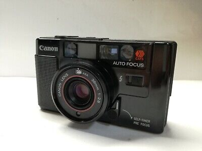 Canon AF35M 35mm Point & Shoot Film Camera with 38mm f/2.8 lens from JAPAN EXC+3