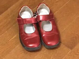 Red Stride Rite size 11 kids shoes