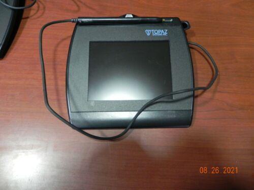 "Topaz SignatureGem 4""X 5"" Signature Pad LBK766 T-LBK766-BHSB-R USB  & Serial,"