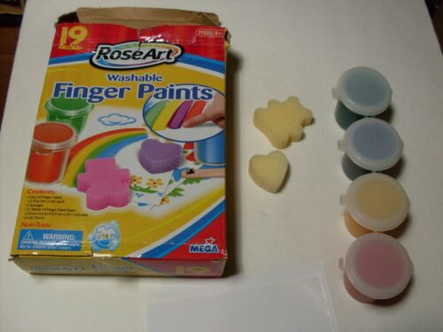 Roseart Finger Paints Washable  Finger Paints set damage box