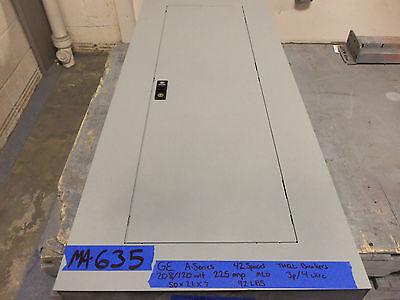 Ge 225 Amp Panel Panelboard 240v 208v120v 200 175 150 Breaker 3 Phase Mlo