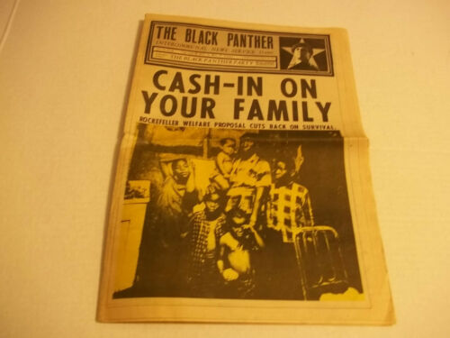 Black Panther Newspaper  Dec. 11, 1971  VG+