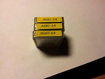 5 Buss Fuses Agc-14 New In Pack