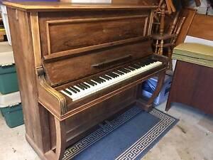 Antique German piano Belrose Warringah Area Preview