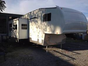 2007 30' Forest River Fifth Wheeler, slideout, bunks, ensuite Smithfield Playford Area Preview