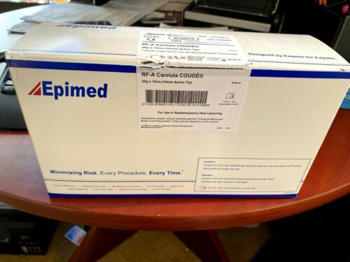 Epimed RF-A Cannula COUDE 20g x 15 cm (10 mm Active Tip)