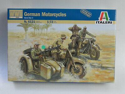 Italeri 1:72 > 6121 < German Motorcycles