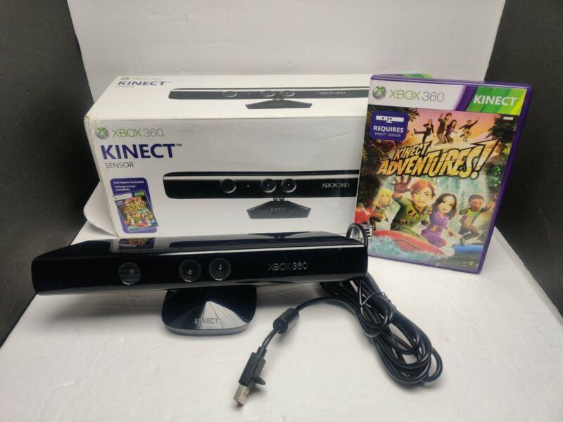 Genuine Microsoft XBOX 360 Kinect Sensor Bar Model 1414 Black  AF