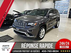 2015 Jeep Grand Cherokee Summit, 4X4, CUIR, TOIT, NAV