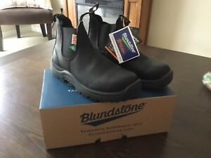 Blundstone Safety boots, men's size 81/2. $200 each