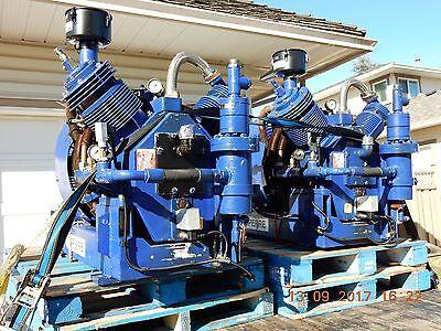 2007 Sperre 50 HP 1750 rpm Classic HL2/160 30 bar or 435 PSI  Marine Compressor
