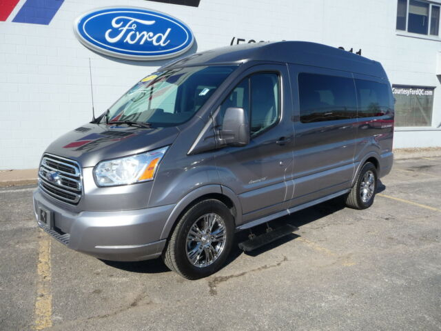 2015 ford transit 150 explorer limited se conversion van. Black Bedroom Furniture Sets. Home Design Ideas
