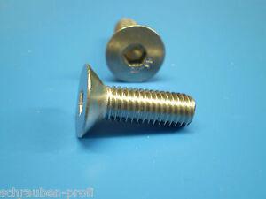 Allen-tornillos-avellanados-7991-ACERO-INOX-V2A-M8-Cabeza-Avellanada