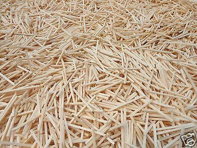 5000 Natural Wooden Matchsticks Model Making Arts & Crafts - Modelling Bulk Bag
